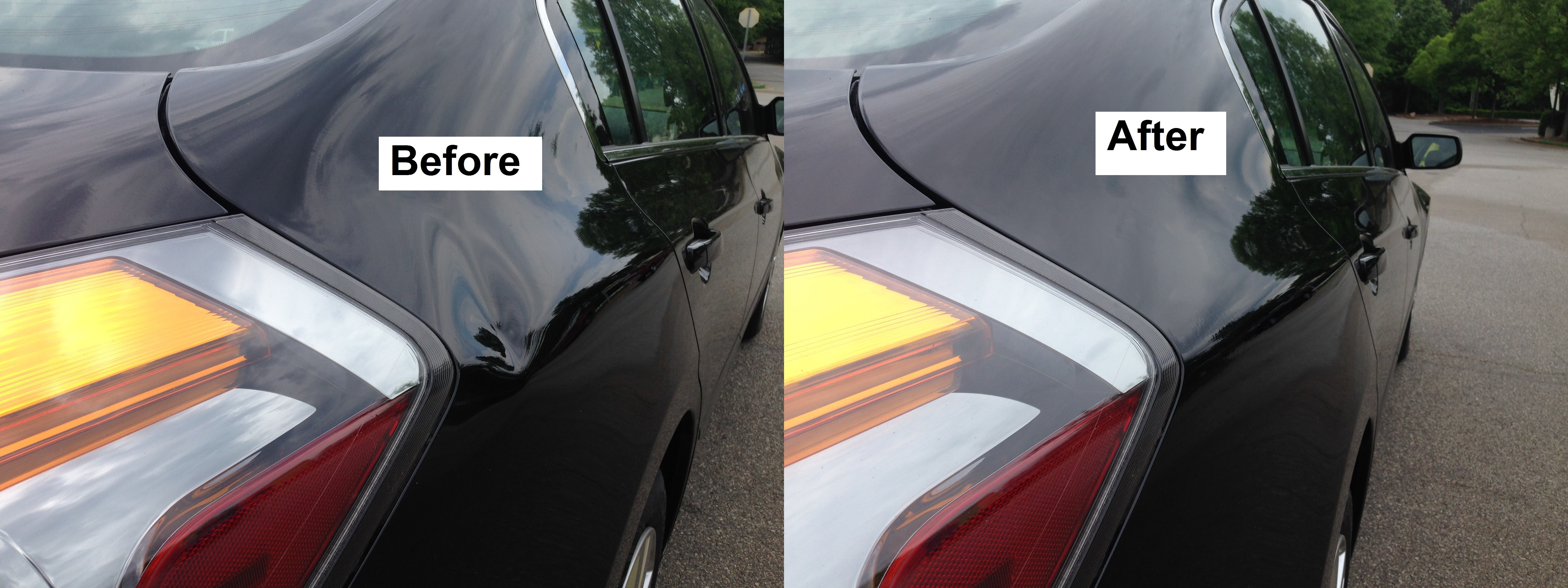car dent repair estimate
